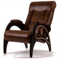 Кресло для отдыха Модель 41 экокожа с оплёткой