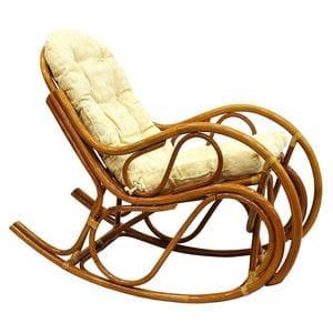 Кресло-качалка из ротанга 05/04