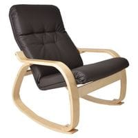 Кресло-качалка Сайма экокожа