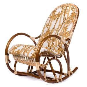 Кресло-качалка Ракита с подушкой (ивовая лоза)