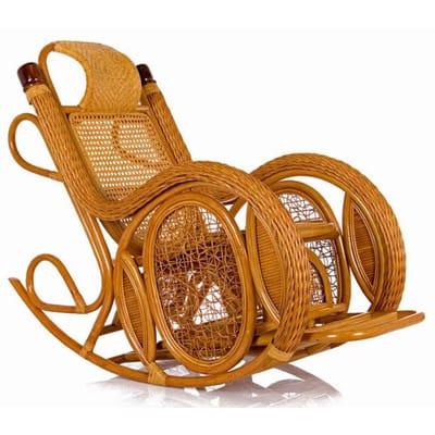 Кресло-качалка из ротанга Twist