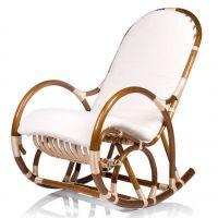 Кресло-качалка Верба с подушкой (ивовая лоза)