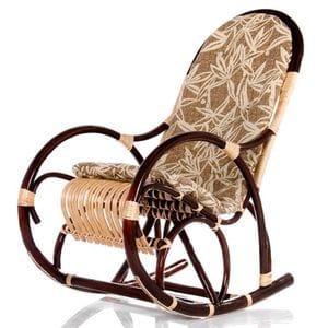 Кресло-качалка Ветла с подушкой (ивовая лоза)