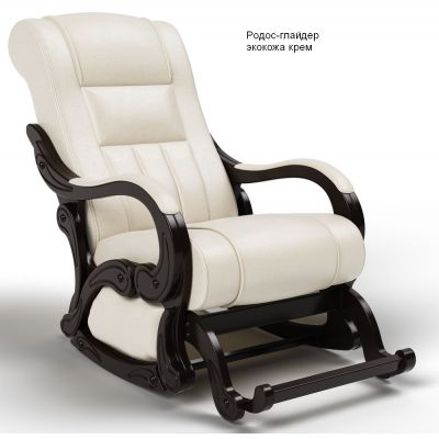 Кресло-качалка глайдер Родос крем