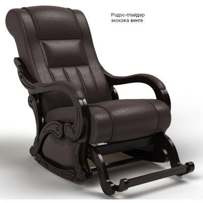 Кресло-качалка глайдер Родос венге