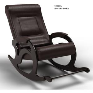 Кресло-качалка Тироль экокожа