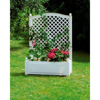 Большой ящик для растений со шпалерой код 37001