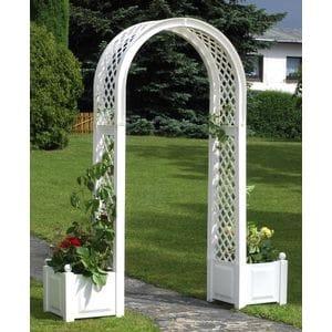 Садовая арка с ящиками для растений код 37601