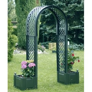 Садовая арка с ящиками для растений код 37603