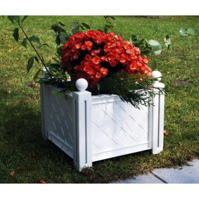 Квадратный ящик для растения к изгороди «Модуляр» 40101