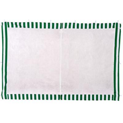 Стенка с москитной сеткой зелёная