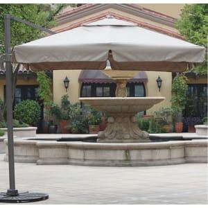 Зонт уличный садовый Garden Way A002-3030 бежевый