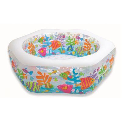 Бассейн надувной детский Океанский Риф 56493