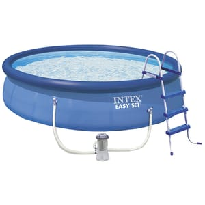 Бассейн надувной Intex Easy Set 28166 полный комплект