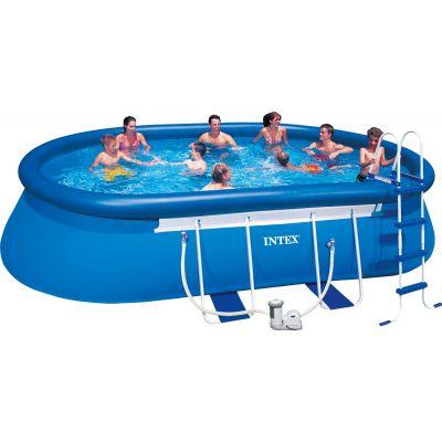 Бассейн надувной Intex Easy Set 28192 полный комплект