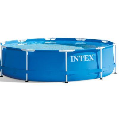 Бассейн каркасный круглый Intex Metal Frame 28202