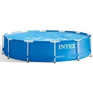 Бассейн каркасный круглый Intex Metal Frame 28210