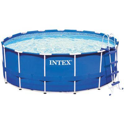 Бассейн каркасный круглый Intex Metal Frame 28218
