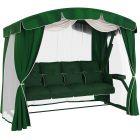 Садовые качели Leset Жасмин зелёные