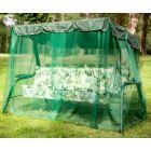 Садовые качели Варна зелёные с997