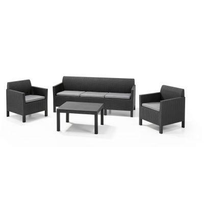 Комплект Orlando с тройным диваном