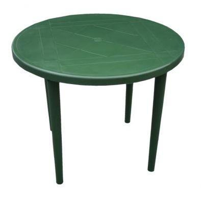 Стол пластиковый круглый 90 см Стандарт Пластик