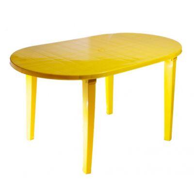 Стол пластиковый овальный 140 х 80 Стандарт Пластик