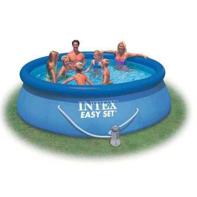 Бассейн надувной Intex Easy Set 28132 фильтр