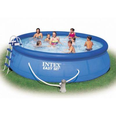 Бассейн надувной Intex Easy Set 56912 Полный комплект